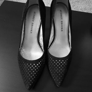 Black Audrey Brooke pumps